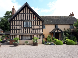 Front of Wollerton Old Hall