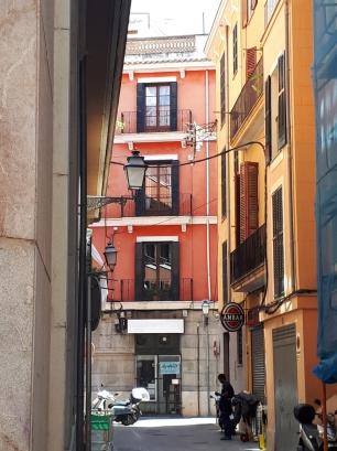 Palma coloured apartments
