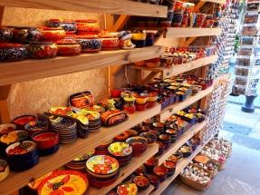 Palma pottery shop