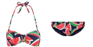 Asda melon bikini with straps