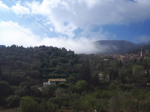 Low cloud over Valldemossa