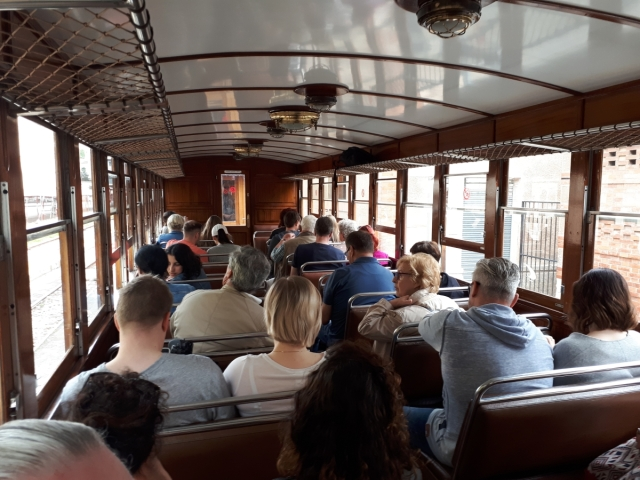 Wooden train to Soller